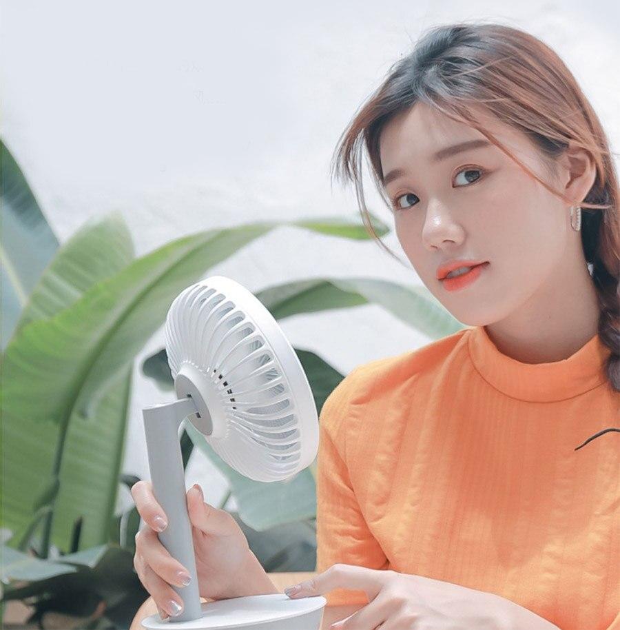 Petit ventilateur Usb muet rechargeable étudiant dortoir bureau mini ventilateur portable petit - 4