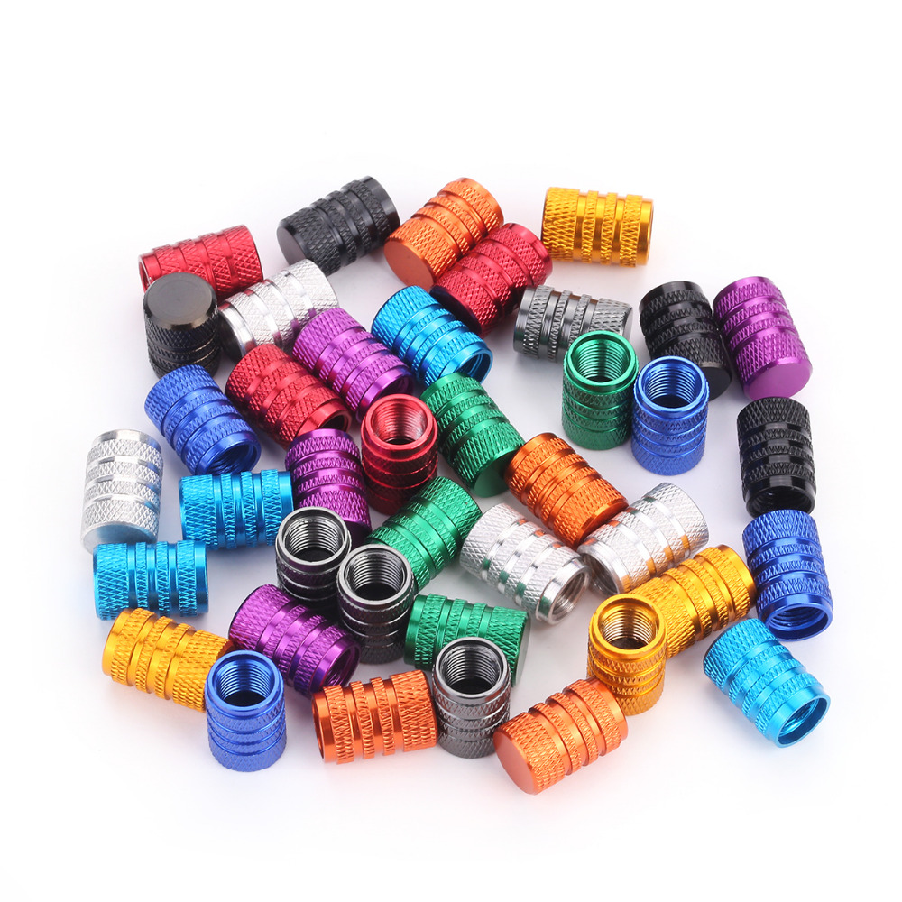4Pcs Bike Wheel Tire Covered Car Motorcycle Truck Universal Tube Tyre Bicycle AV SV American AIR Valve Cap Dustproof