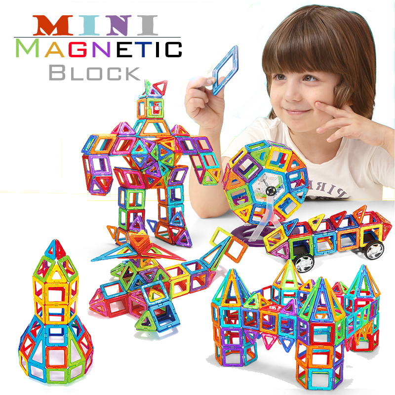 Hot 128PCS Mini Building Blocks Magnetic construction magnetic Designer Toys For Kids model build kits Magnetic Building Blocks hot toys nanoblock world famous architecture statue of liberty building blocks mini construction brick model iblock fun for kid
