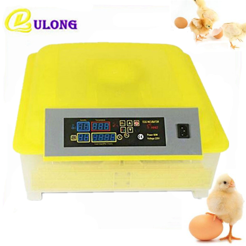 Industrial commercial incubator automatic hatchers equipment 48 eggs turning digital chicken brooder hatchery machine china newest brooder automatic 48 eggs incubator hatchery auto hatchers machine indicator light
