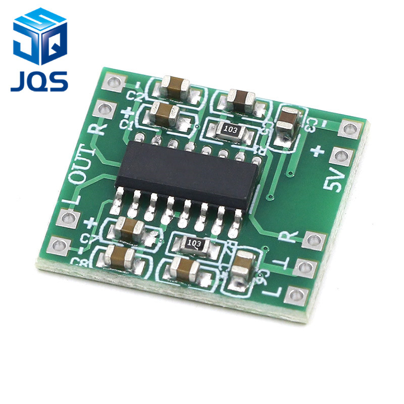 PAM8403 Module Super Digital Amplifier Board 2 * 3W Class D Digital Amplifier Board Efficient 2.5 To 5V USB Power Supply