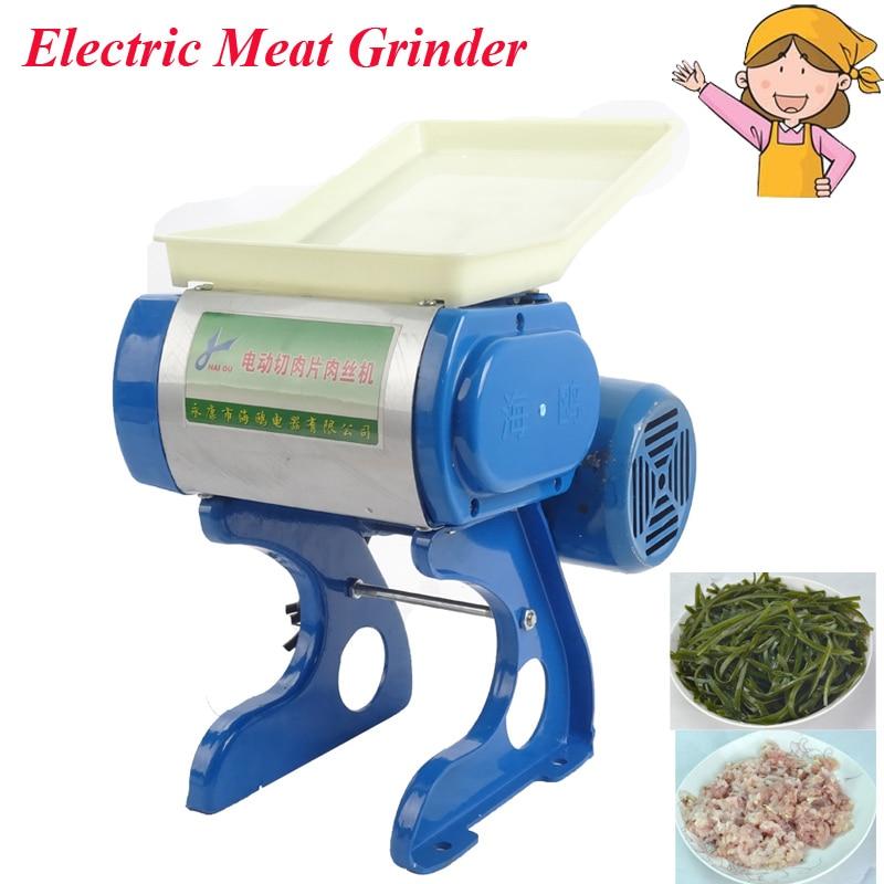 Electric Meat Grinder Family Use Meat Slicer for Sale 50 Kg/hour Metal Slicing Equipment ho-70 цена