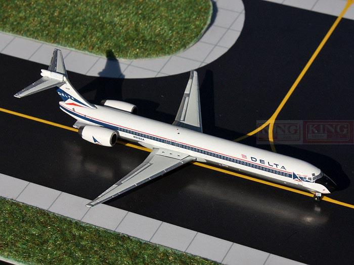GeminiJets GJDAL552 America MD-90 N906DA 1:400 Delta commercial jetliners plane model hobby gjcca1366 b777 300er china international aviation b 2086 1 400 geminijets commercial jetliners plane model hobby