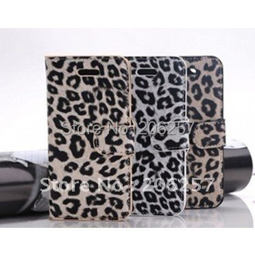 for iphone 5 case Leopard around over seventy percent off support type holster case for iphone5