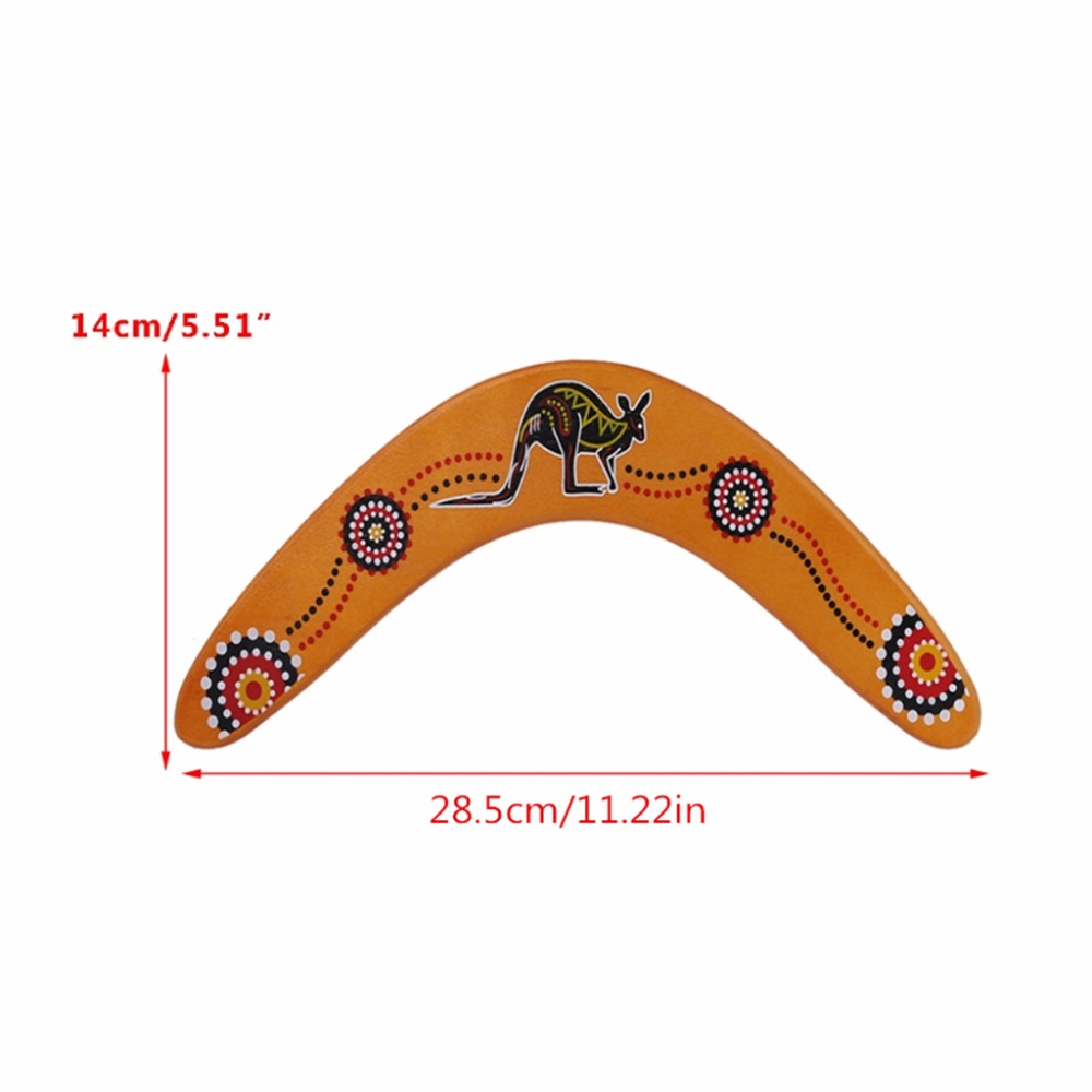 New Kangaroo Throwback V Shaped Boomerang Flying Disc Throw Catch Outdoor Game