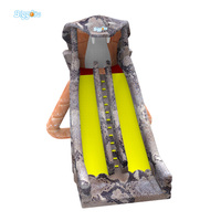 2017 Newest Design Inflatable Slide Snake Inflatable Dry Slide Sports Games For Kids And Adults