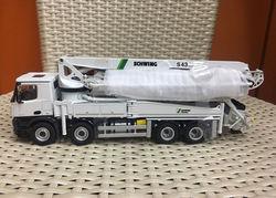NZG 951 1/50 Schwing S 43 SX III mercedes-benz Arocs 8x4 camion monté béton