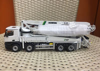 NZG 951 1/50 Schwing S 43 SX III Mercedes Benz Arocs 8x4 Truck Mounted Concrete