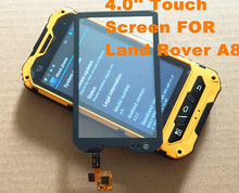High quality oringal 4.0 inch touch screen For Land Rover A8 Digitizer Glass IP67 Land Rover A8 A8 with assuring