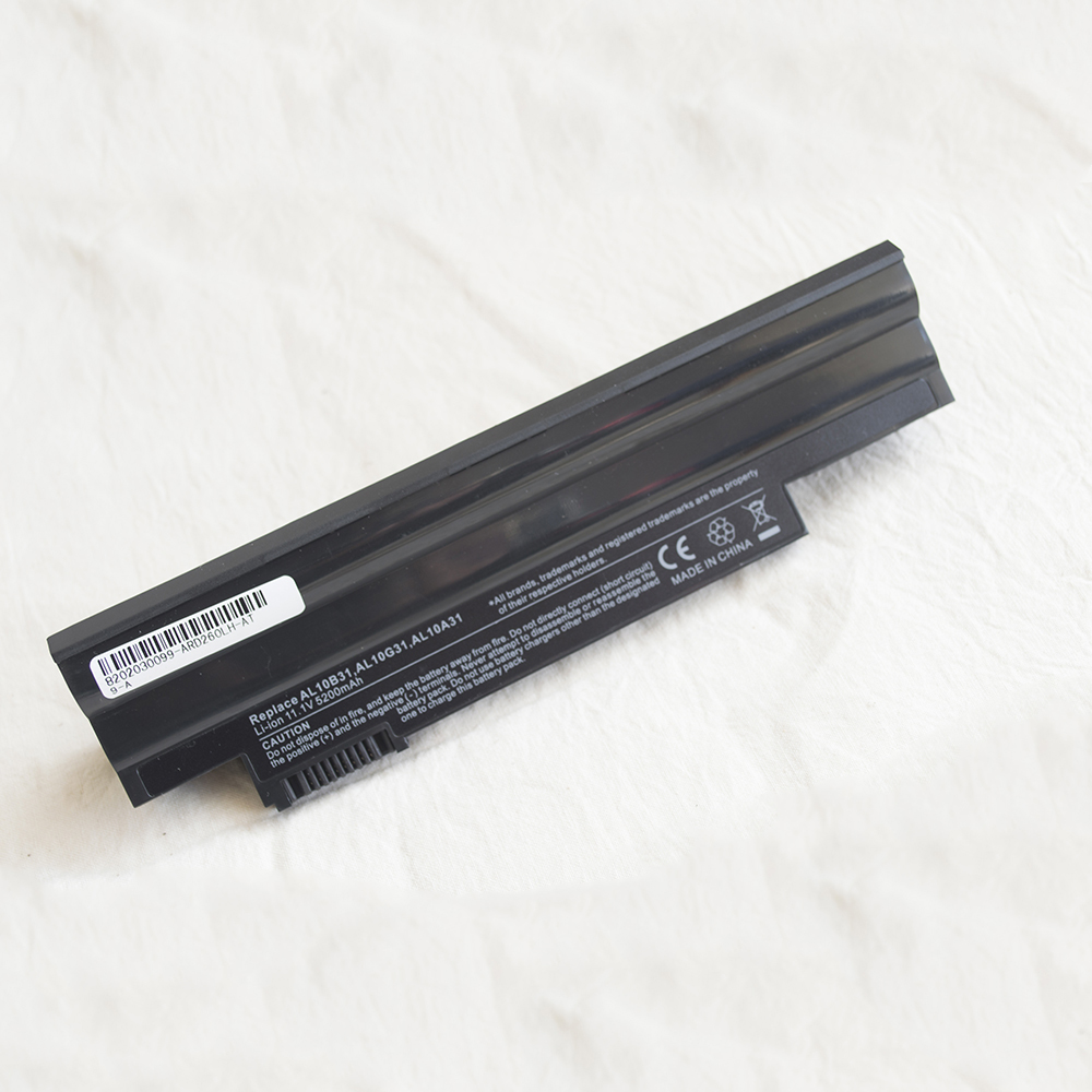 6Cell Laptop <font><b>Battery</b></font> For <font><b>Acer</b></font> <font><b>Aspire</b></font> <font><b>One</b></font> 522 <font><b>722</b></font> AO522 AOD255 AOD257 AOD260 D255 D270 E100 D257 D260 D270 D257 eM355 AC700 image