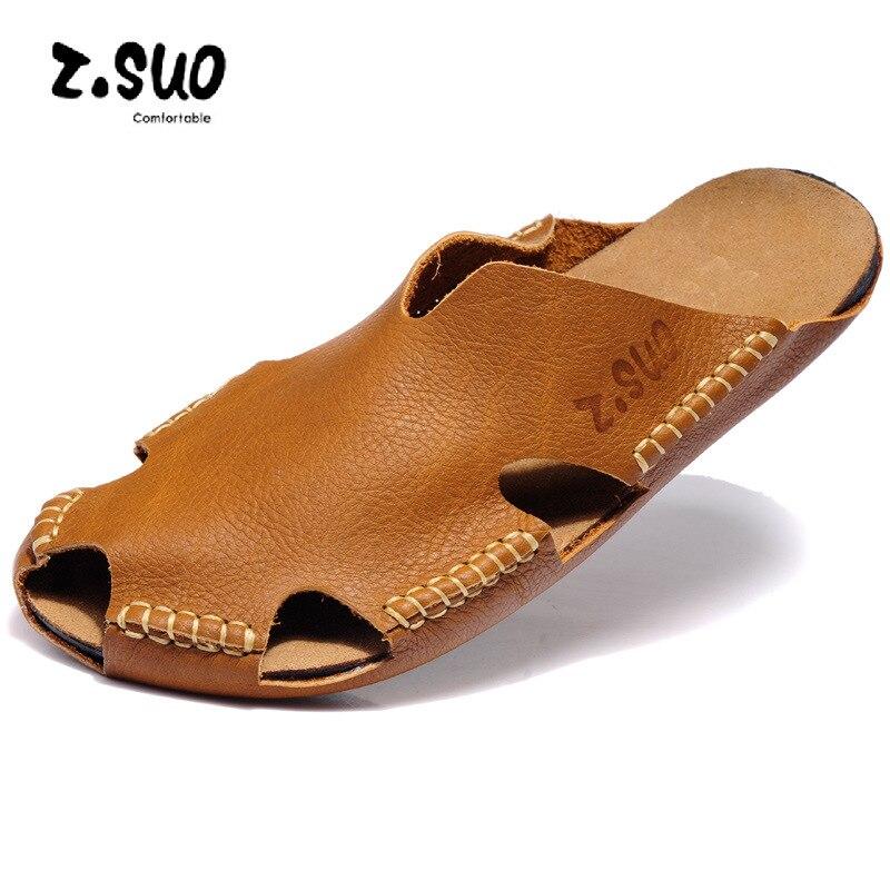 preto Couro De Metade Preguiçoso Respirável Brown Sapatos Plus39 Baotou Das Verão Chinelos branco Homens Da Slippersout 45 Dos Porta Fresco U5dqnAw1Bx