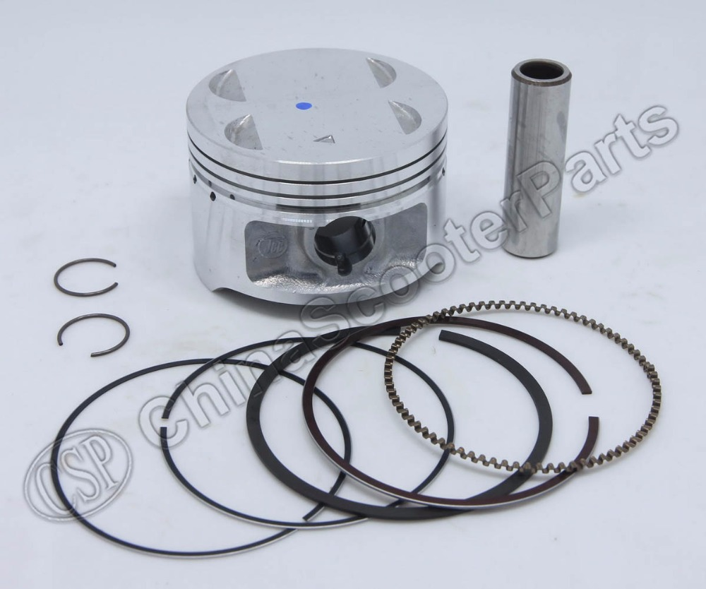 78mm 18mm Piston Kit Ring Gasket For Loncin 300 300cc Gn300 Suzuki