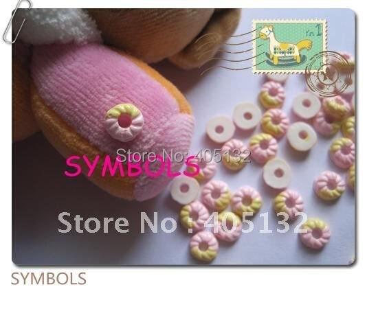 RC-55 200 шт./пакет розовый пончик Дизайн ногтей украшение мобильного телефона украшения