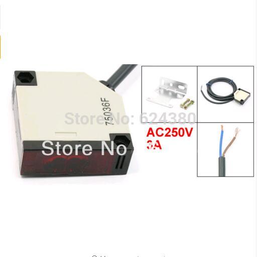 A Pair Switch Sensor Photoelectric Bijection E3JK-5DM2 DC 12V 5m
