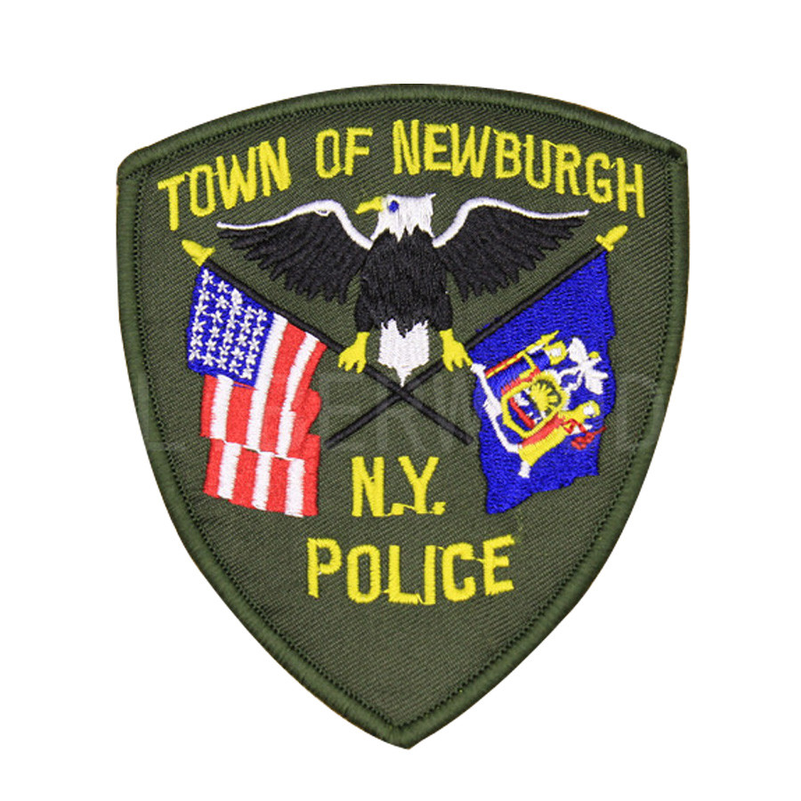 NEW YORK NY Police Sheriff Town of Newburgh Patches USA US eagle  embroidered tactical army badge for clothing hook loop patch
