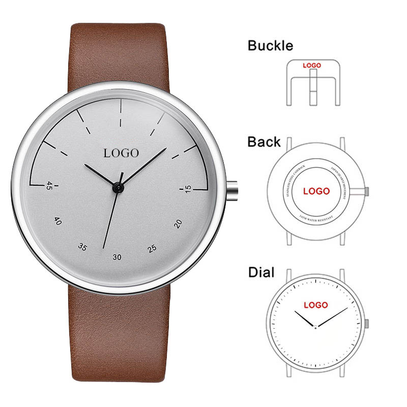 CL023 Custom Branding Watches OEM Business Name Men Watches Private Label Your Own Logo Watch Brand Name or Brand Logo Engraved custom your own logo design palyer s name and number sublimation print men s football team jersey personality customization