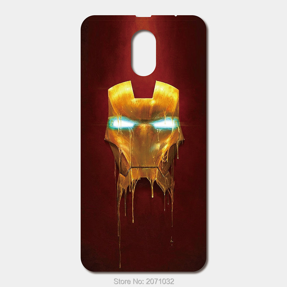 For Lenovo Vibe P1M Zuk Z1 Z2 Pro X2 A536 A319 S580 S60 S660 S850 S90 P70 K3 K5 Note A5000 Super Hero Mask iron Man Phone cases