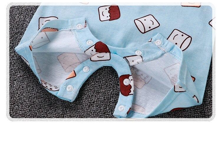 HTB1ImN3LMHqK1RjSZFgq6y7JXXaw Uniesx Newborn Baby Rompers Clothing Infant Jumpsuits 100%Cotton Stripe Children Roupa De  Girls&Boys Baby Clothes