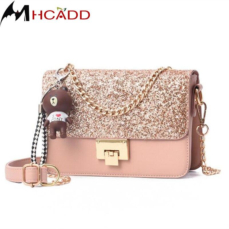 MHCADD Fashion High Quality PU Leather Women Crossbody Bags Female Shoulder Bags Small Shoulder Strap Ladies Handbags bolso muj