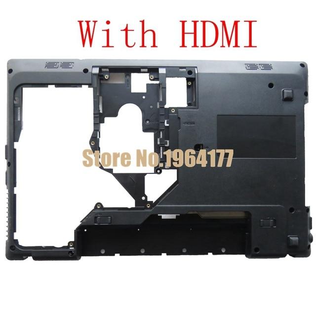 New Laptop Bottom Cover For Lenovo G570 G575 G575GX G575AX Bottom Case Base Black