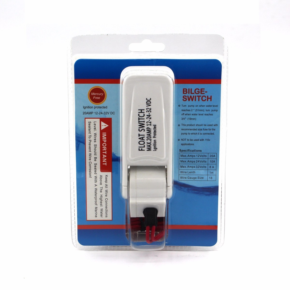 Aliexpress.com : Buy Flow Sensor Automatic Electric Bilge Water Pump ...