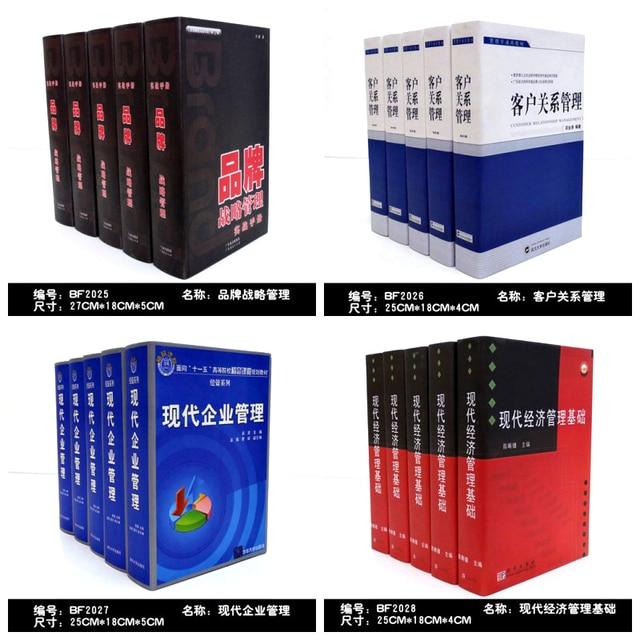 Decorative Fake Book Boxes Mesmerizing 8Pc Wall Dies Decorative Book Decoration Simulation Props Fake Decorating Design
