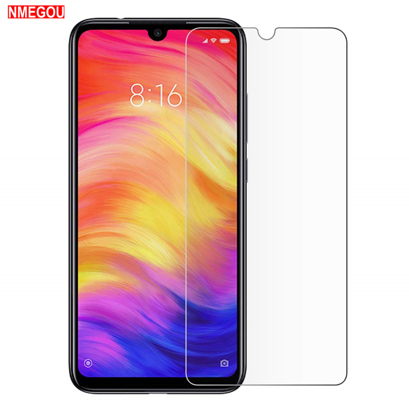 Clear Glass Case for Xiaomi Redmi Note 7 Screen Protector Cover for Xaomi Xiomi Red Mi Note7 Protector Case Coque Accessories