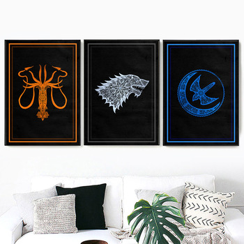 Wall Art Canvas Painting For Living Room Decor 2