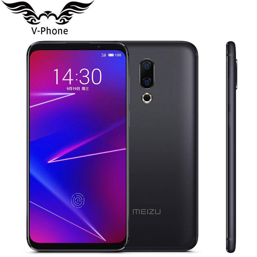 Global ROM Meizu 16 6GB 64GB Mobile Phone Meizu 16x 6 Snapdragon 710 Octa core Android