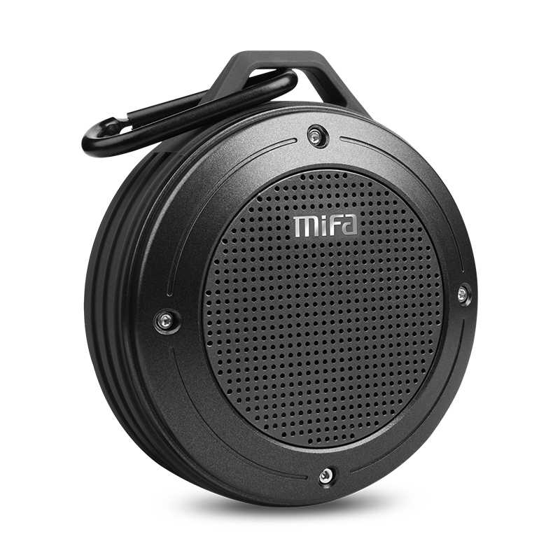 цена MIFA F10 Wirless Bluetooth Speaker Built-in mic Bluetooth 4.0 Stereo Water-proof Outdoor Speaker With Bass