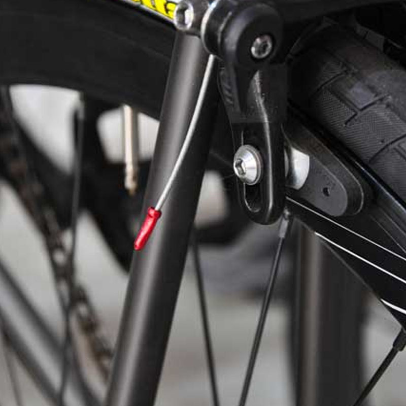 Высокое качество, 100 шт., Торцевая крышка для тормозного провода, детали кабеля для велосипедной линии, крышка, крышка для тормозного троса, а...