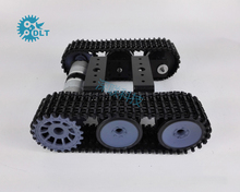 T101-P Caterpillar Tank Chassis Robot Intelligent Car with Version 33 motor
