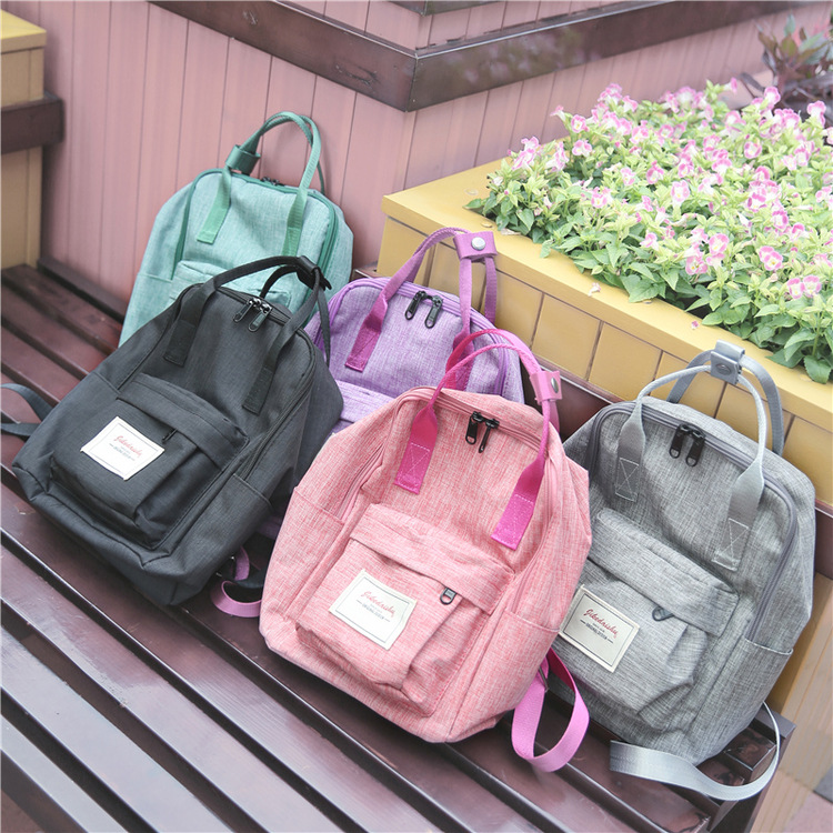 2016 Canvas Backpacks Student School Back Packs For Teenage Girl Boy Travel Bag Trendy Backpack Japan