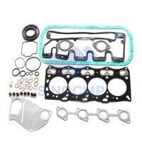 4LE1 Escavadeira kit de Vedação Revisão para Hitachi Escavadeira 50ZTS SH55 DCA 25 Gerador|Kits p/ reconstrução do motor| |  -