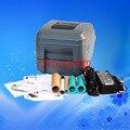 Zebra GT820 CÓDIGO de Escritorio de Código De Barras Adhesivo de Impresión de Etiquetas Etiqueta de la Ropa Etiqueta de la Joyería de Impresión de La Impresora de código de Barras de Transferencia Térmica 203 DPI
