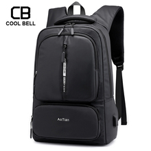 Men Bag Backpack Large Capacity Multifunction Waterproof Sports 2019 New USB Charging Travel Laptop Male