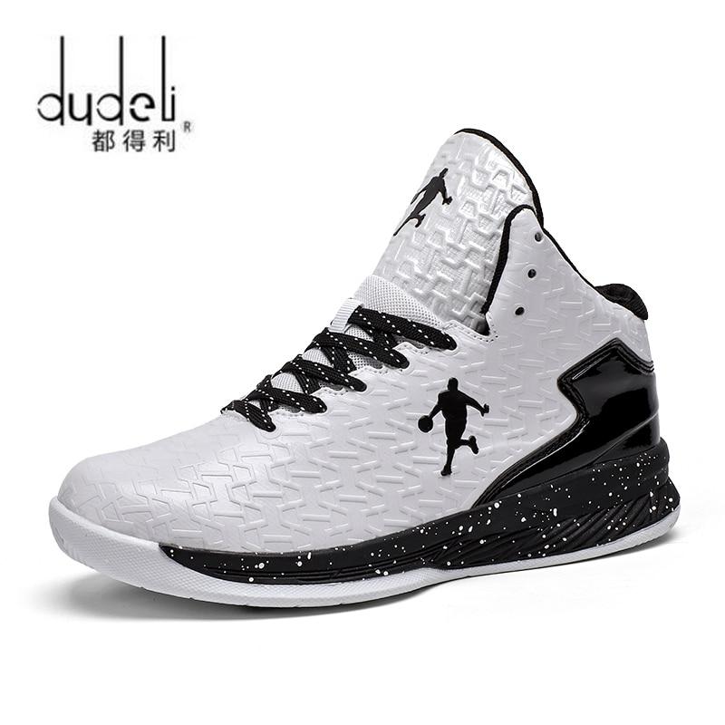 DUDELI Homme Amortisseurs de Haute top Jordan Basketball Chaus