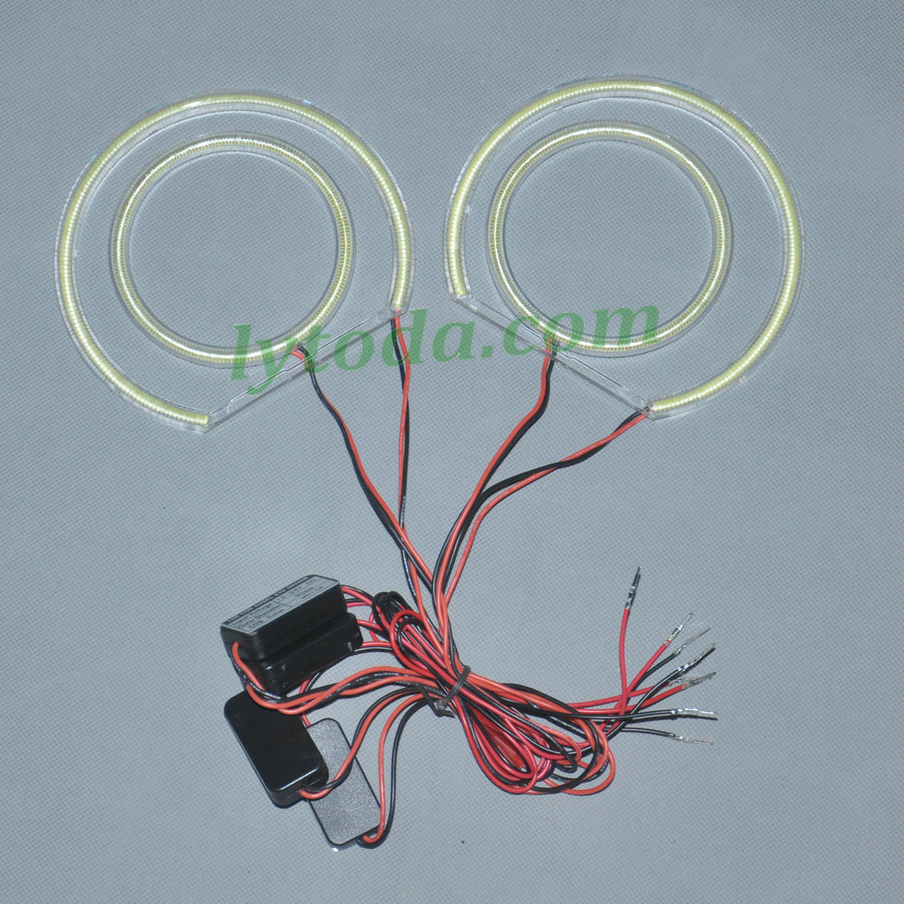 COB LED Angel Eyes for BMW E46 compact, cob led angel eyes for BMW ...