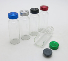 500 x 20ML Clear Glass Vials with Aluminum Flip Cap 20CC Clear Glass Skin Care Cosmetic Container