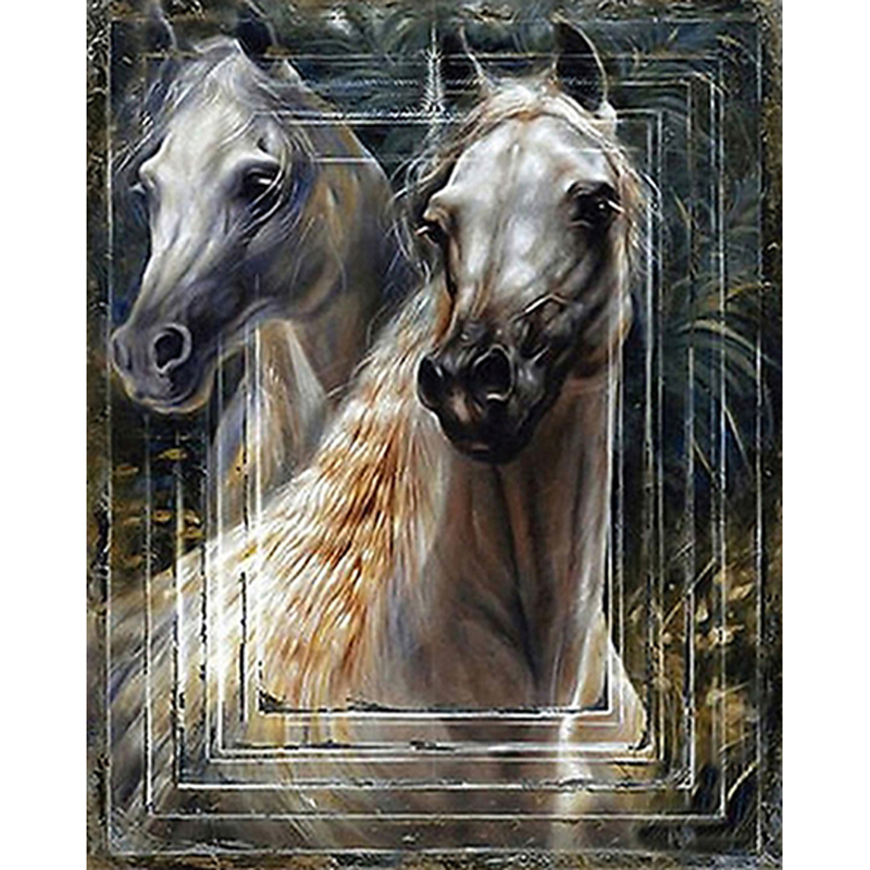 5D Diamond Painting Diy Full Diamond Embroidery Horse 3D Crafts Diamond Mosaic Animal Picture Rhinestones Home Decorative