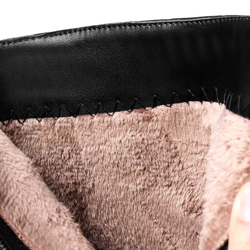 Boucles À Chaussures Pointu Zipper Européenne Hauts Bout Talons Ceinture Cuir Black Décontracté D'équitation Femmes De En Bottes Style Noir Naturel Cheville Sexy BPqHqZ4