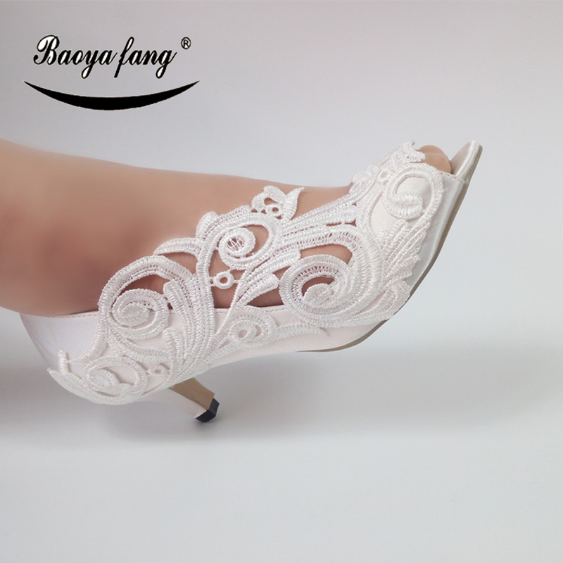 New white Flower Women Wedding shoes Bride crystal fashion shoes party dress shoes female Peep Toe open side Bridal shoes 2014 free shipping open toe hand sewing crystal chiffon flower pu insole comfortable pure white wedding flip flop