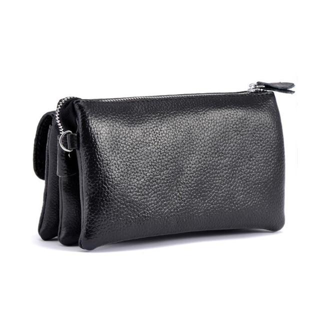 Genuine Leather Clutch  3