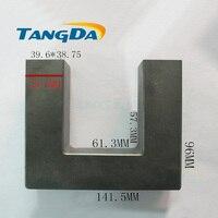 U type big core Soft ferrite inductor UF140 High voltage electricity Welding UU 140 UU140 high power PC40 material UF 140