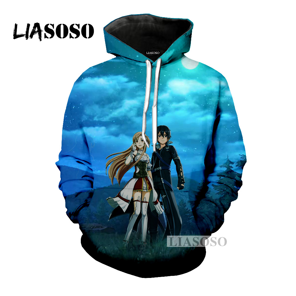 a894a9645 Buy sword art online kirito hoodie and get free shipping on AliExpress.com