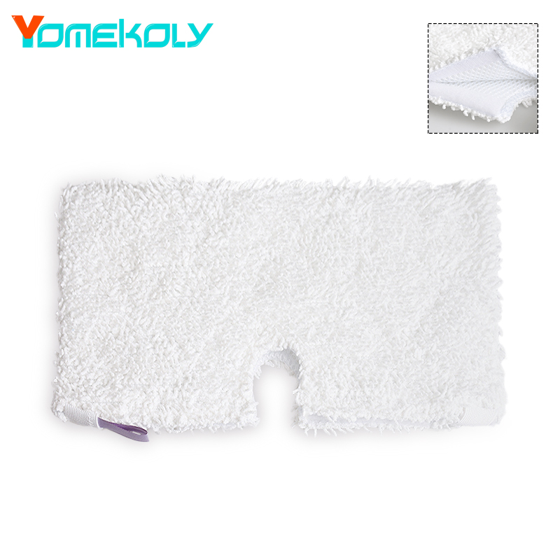 1PC Steam mop Pads for Shark Pocket Steam Mop S3901 Replacement Pads Microfiber Machine Washable Cloths White Color 38.5*35cm 4 pcs white microfibre steam mop cleaning floor washable replacement pads compatible for x5 h20 series dust cleaner part