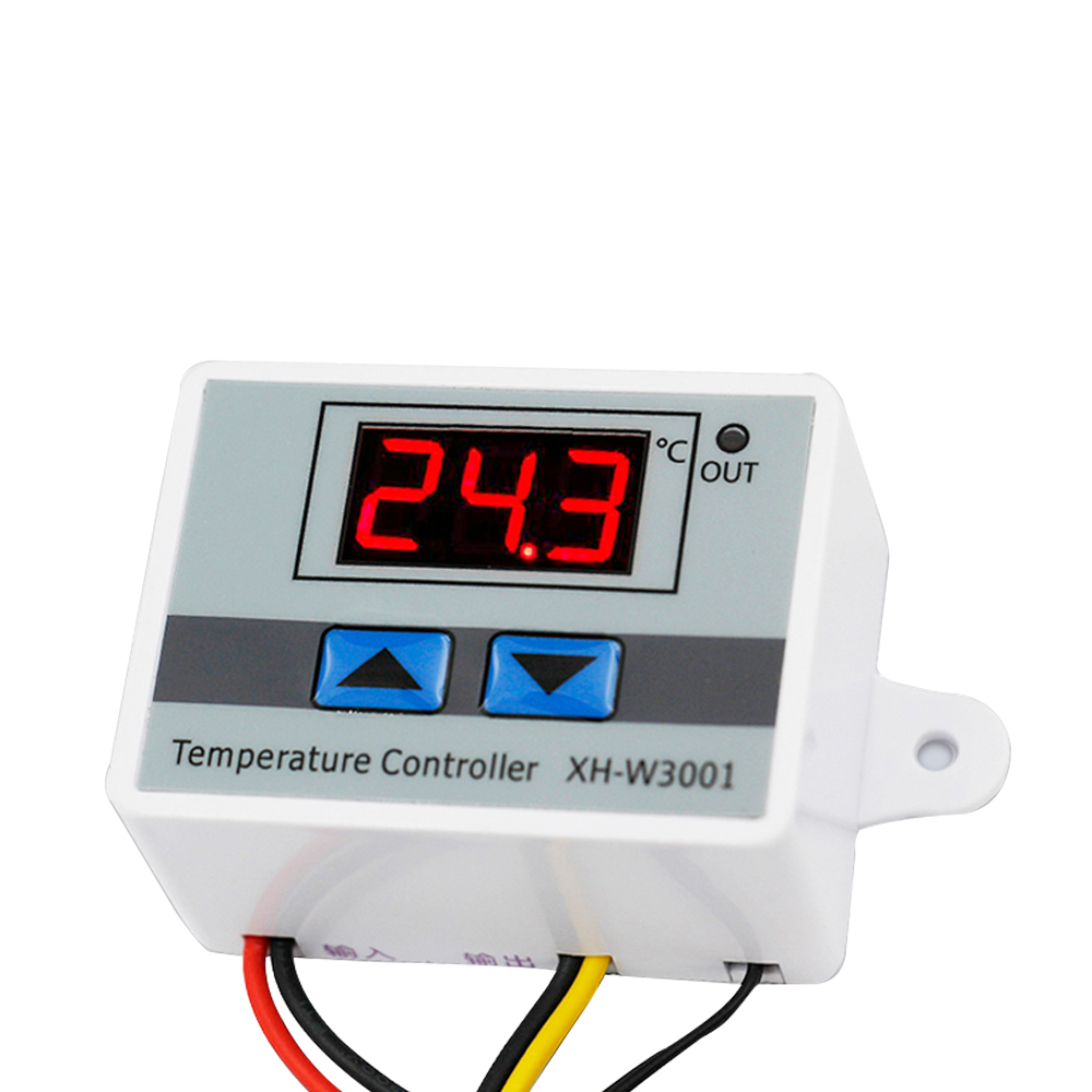 W3001 Microcomputer Digital Temperature Controller Intelligent Electronic Control Switch