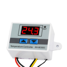 W3001 Microcomputer Digital Temperature Controller Temperature Controller Intelligent Electronic Temperature Control Switch стоимость