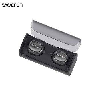 Wavefun X-Pods mini true wireless earbuds bluetooth headphones earphone headset in ear with charging box for xiaomi iPhone phone wavefun xpods 3