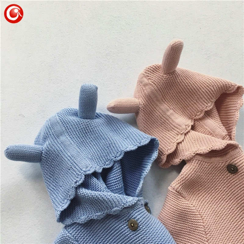 2016 AutumnWinter Kids Girls Hooded Cardigan Double Breasted Cotton Sweater For Children Boy Baby Girl Soft Knit Jumper Clothes (1)